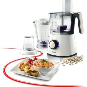 Philips 750 W Kitchen Food Processor HR7761/01 with Accessories