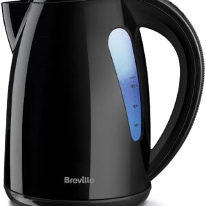 Breville VKJ557 Illuminated Plastic Jug Kettle – Black