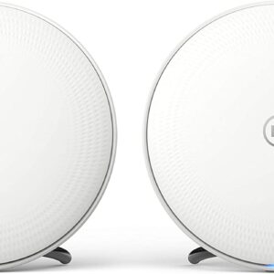 BT Whole Home Wi-Fi, Pack of 2 Discs, Mesh Wi-Fi for seamless, speedy (AC2600) connection, Wi-Fi everywhere in small to medium homes, App for complete control