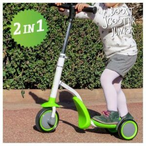 Boost Scooter Junior 2-in-1 Scooter-Tricycle (3 wheels)