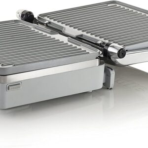 Breville VHG026 DuraCeramic Ultimate Electric Grill and Griddle – Silver