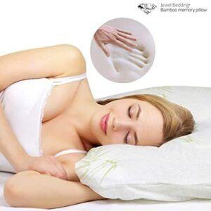 Bamboo Jewel Bedding Memory Foam Pillow