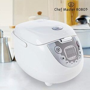 Chef Master Robot Multi-Cooker (Capacity 5L, Cooks Rice, Fry, Bake, Soup)