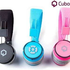 CuboQ Bluetooth Headphones Wireless Stereo Headphones – Black
