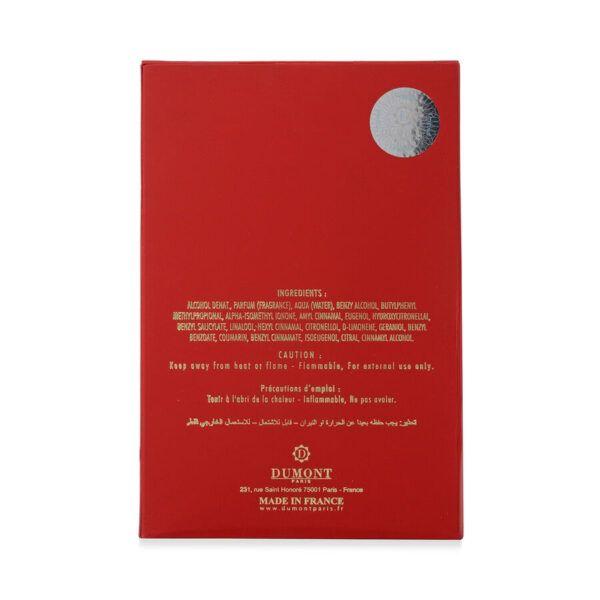 UnityJ UK Beauty Dumont Nitro Red Eau De Parfum2 06