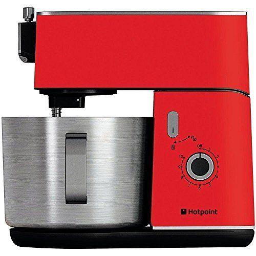 Hotpoint HD Line KM040AR0 Kitchen Machine – Red